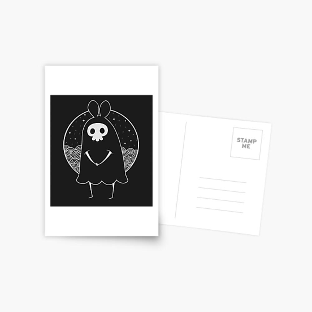 Death Bunny a Postcard