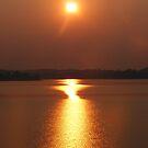 Sunrise on the Lake by raindancerwoman