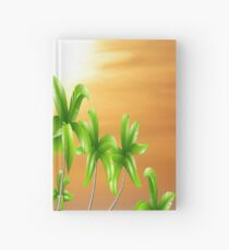 PALM TREE OASIS Hardcover Journal