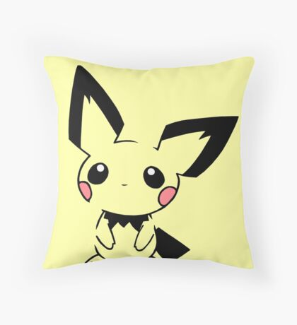 Pichu Throw Pillow