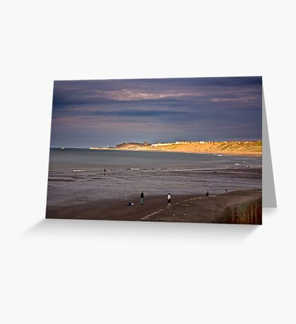 Sandsend to Whitby Greeting Card