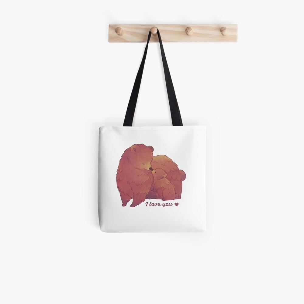 Happy Mothers Day 2 - Mama Bear & Cub - [Light BG] Tote Bag
