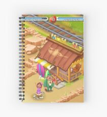 Bad Hay Day Spiral Notebook