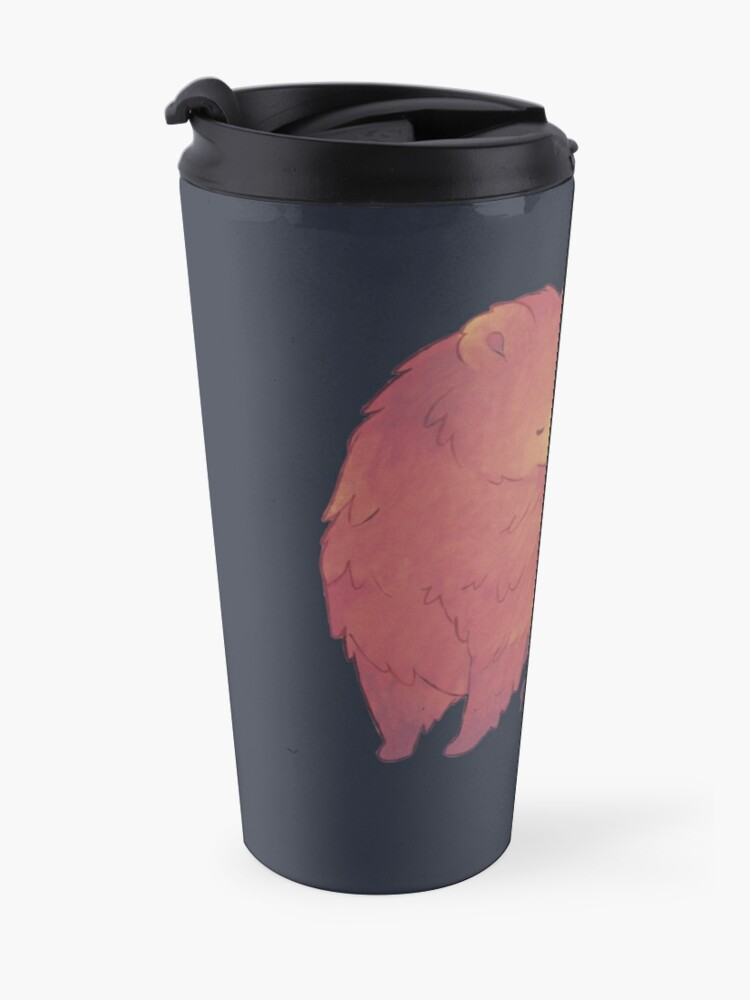 Alternate view of Happy Mothers Day 2 - Mama Bear & Cub [Dark BG] Travel Mug