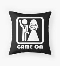 GAME ON 2 Throw Pillow