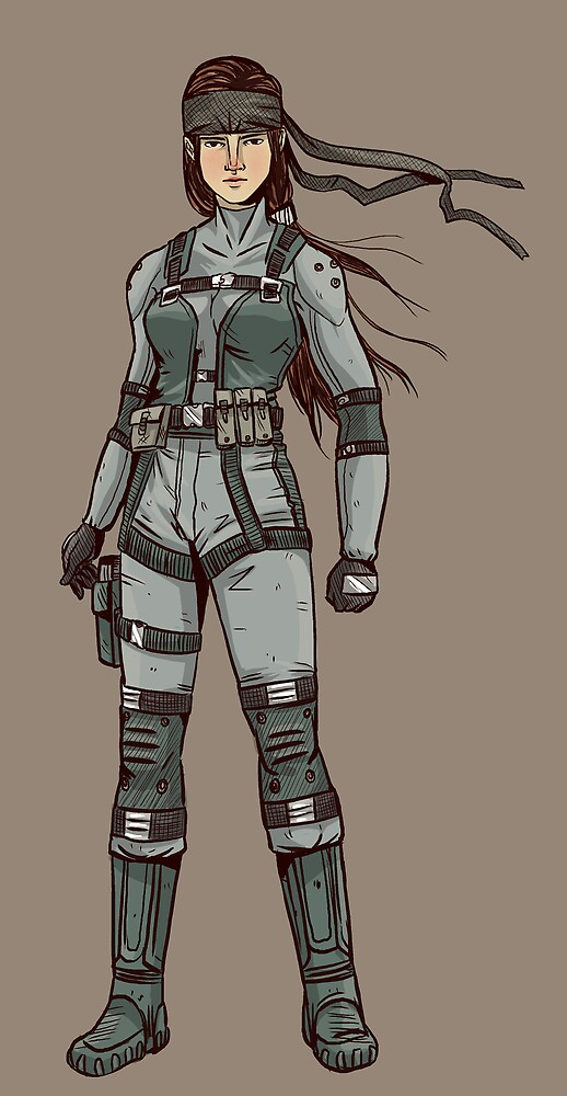 Solid Snake (F-type) by Alice Carroll