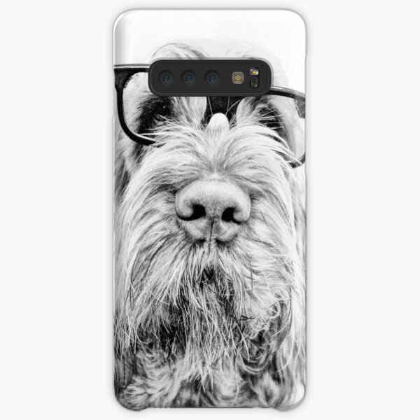 Brown Roan Italian Spinone Dog Wearing Glasses Samsung Galaxy Snap Case