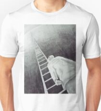 exhaustion. 9''x12''. grphite on paper. adam sturch T-Shirt