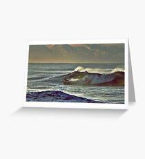 Bodyboarder Greeting Card