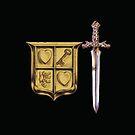 Zelda Sword & Shield by zepfhyr