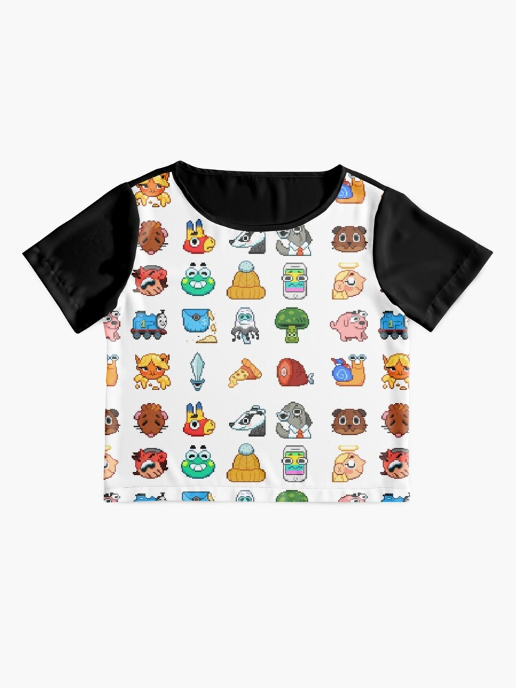 Alternate view of Doodle Date Pixel Party  Chiffon Top
