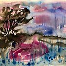 «paisaje morado» de Marianna Tankelevich