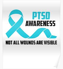dd773e6a3ec Ptsd Awareness Posters | Redbubble