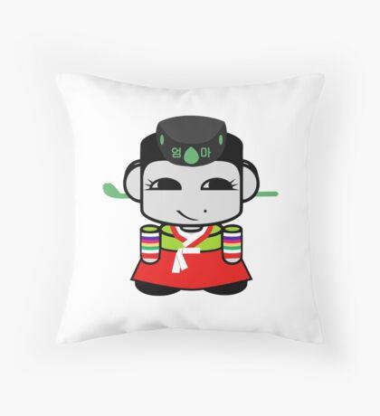 Umma Korean Geo'bot 1.0 Throw Pillow