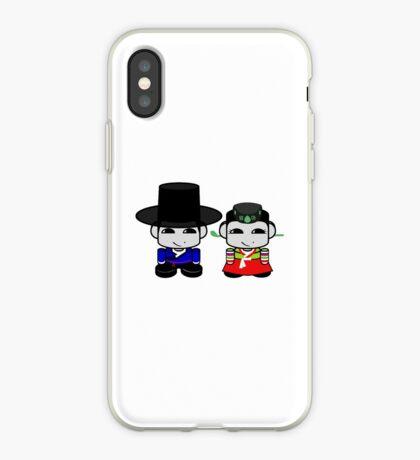 Appa & Umma Korean Geo'bot 1.0 iPhone Case