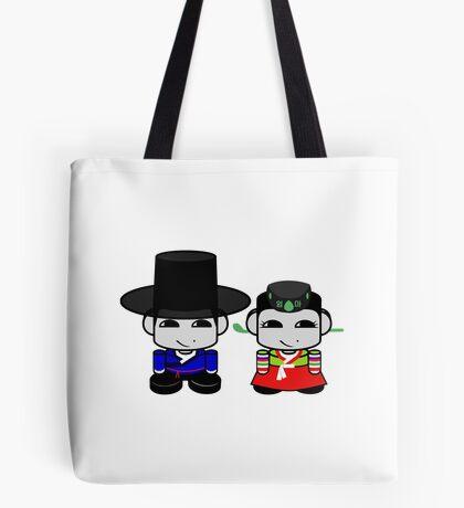 Appa & Umma Korean Geo'bot 1.0 Tote Bag