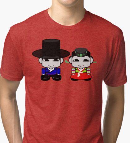 Appa & Umma Korean Geo'bot 1.0 Tri-blend T-Shirt