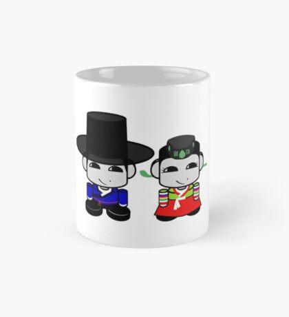 Appa & Umma Korean Geo'bot 1.0 Mug