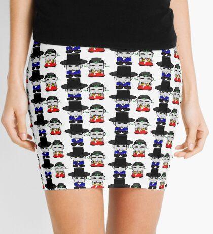 Appa & Umma Korean Geo'bot 1.0 Mini Skirt