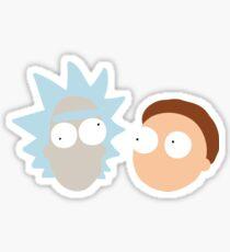 RickandMorty, Rick and Morty Sticker
