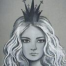 Queen of Diamonds by Kamila  Krizova/Aitchison