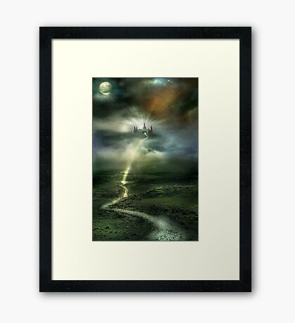 THE PATH TO YOU Framed Print