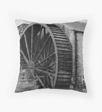 The old watermill, Pateley Bridge, North Yorkshire Throw Pillow