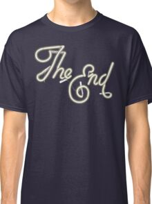 THE END - MOVIE CREDITS Classic T-Shirt