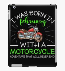 Motorcycle  Shirt Gift iPad-Hülle & Klebefolie