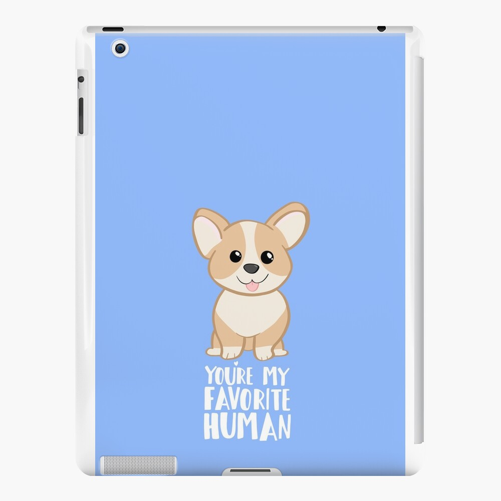 CORGI - DOG - You're my favorite person iPad Cases & Skins