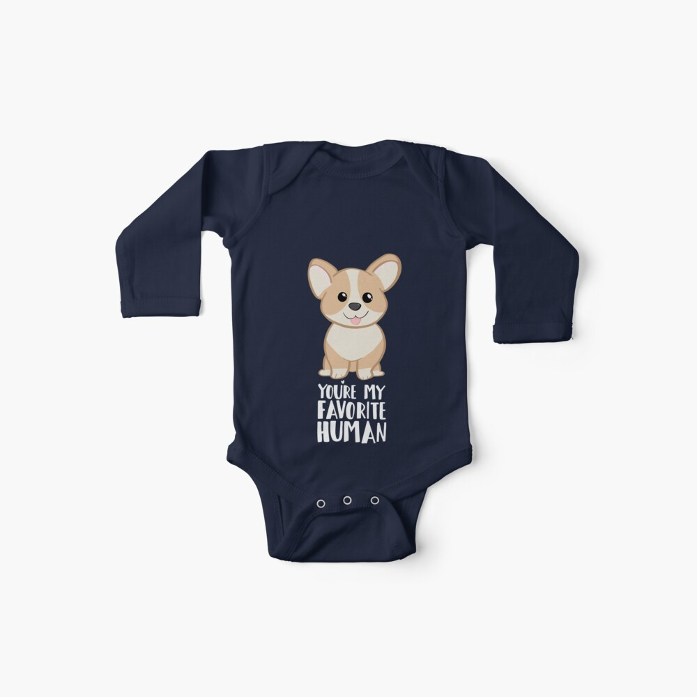 CORGI - DOG - You're my favorite person Baby One-Pieces