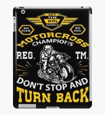 Motocross Racing Bike Motorcyclist Shirt Gift iPad-Hülle & Klebefolie
