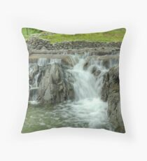 The Return Of The Waterfall Throw Pillow