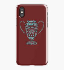 Aston Villa European Cup 1982 iPhone Case/Skin