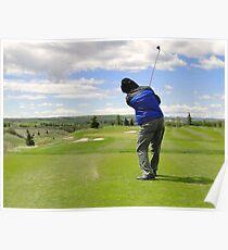 Golf Swing K Poster