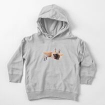 that's what it says here 'mince pies' Toddler Pullover Hoodie