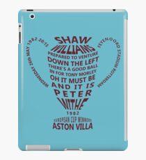 Aston Villa European Cup 1982 Alternative iPad Case/Skin