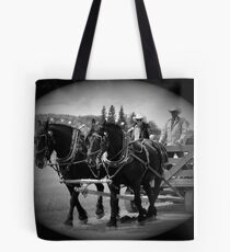 The Black Team II, The Bar U Ranch Tote Bag