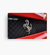 Ferrari F430 Prancing rear Canvas Print