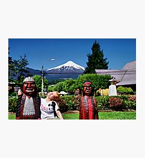 Pucon. Chile. Photographic Print