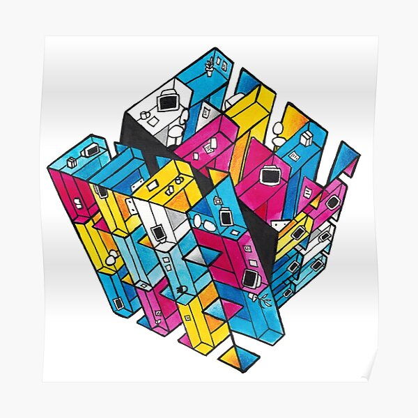 Magique Cube Coussin Sheldon Explosion Theory big bang Cooper Rubik Cube Cube