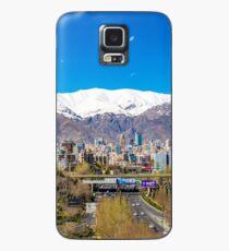 Crystal clear Tehran Case/Skin for Samsung Galaxy