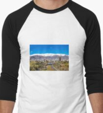 Crystal clear Tehran Baseball ¾ Sleeve T-Shirt