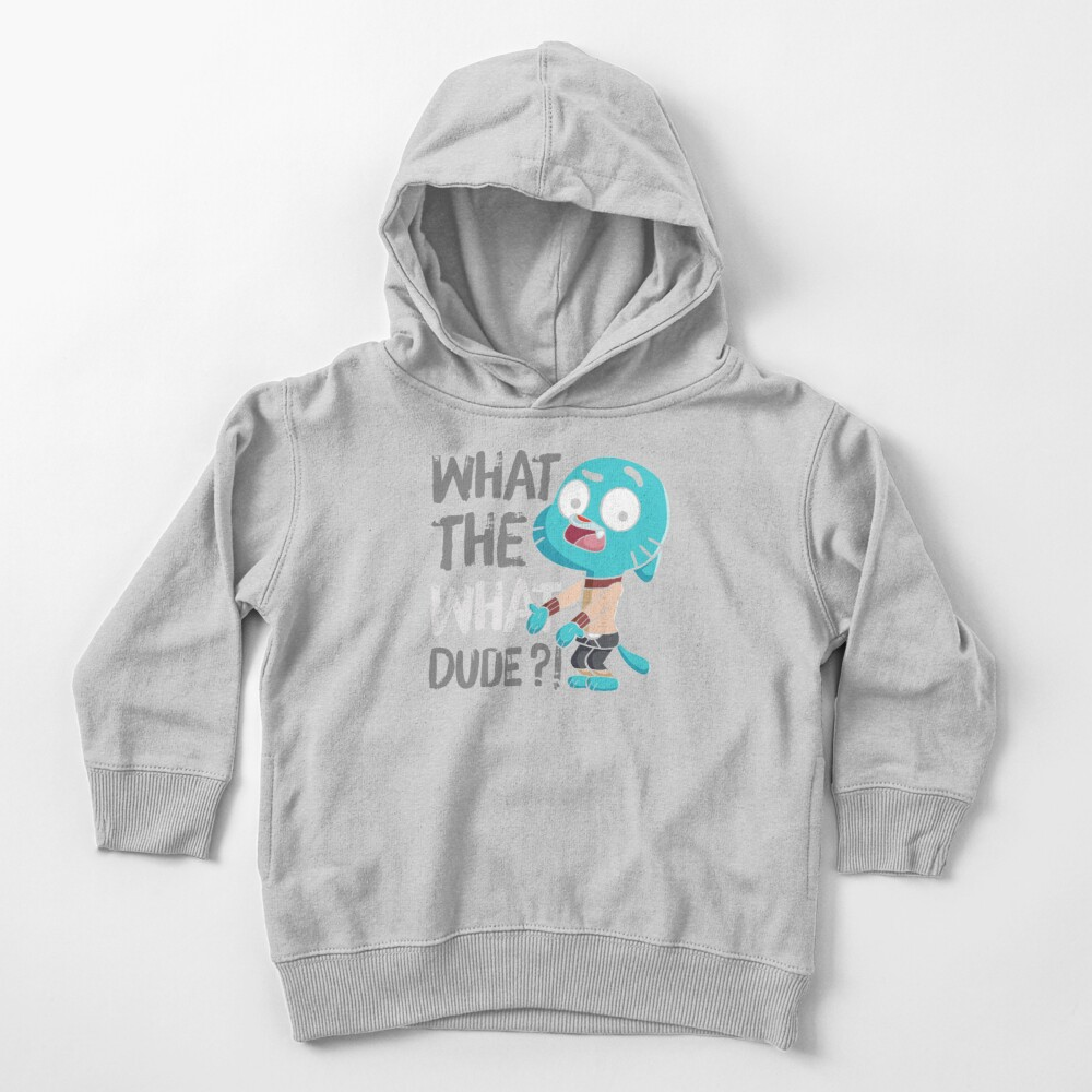 WHAT THE WHAT DUDE ?! Toddler Pullover Hoodie