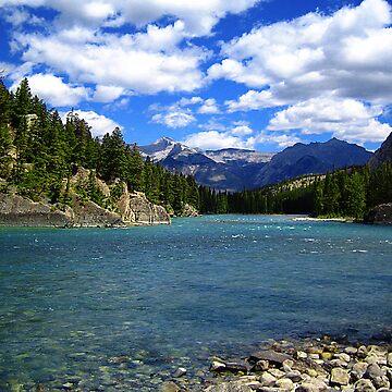 Bow River, Banff, Alberta by laurasanders