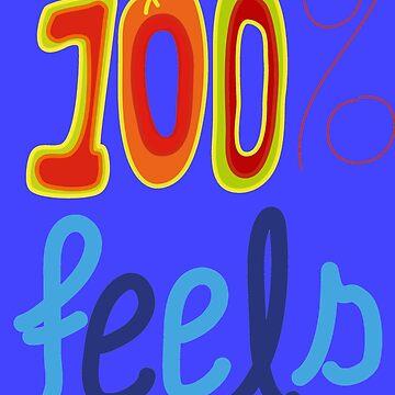 100 percent feels by trudywinn