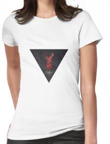 Nebula Deer Womens Fitted T-Shirt