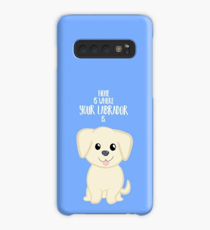 Home is where your Golden Labrador is - Gifts from dog Case/Skin for Samsung Galaxy