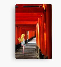 Monogatari – Shinobu Shrine Canvas Print