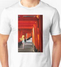 Monogatari – Shinobu Shrine Unisex T-Shirt